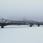 The Alexandra Bridge viewed from Ottawa, Ontario