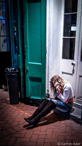 2017 bourbonstreet citylife door female karltonhuber lady light louisiana neworleans nightlife nightphotography peoplewatching samsung shadows smartphone stoop streetphotography woman