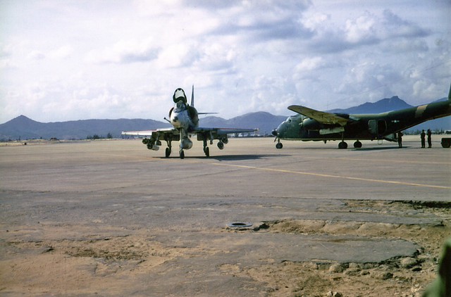 Da Nang 1968 - Photo by Terry Elliott