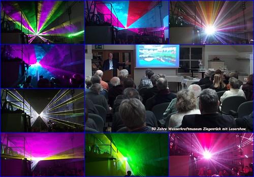 50 Jahre Wasserkraftmuseum Ziegenrück Collage