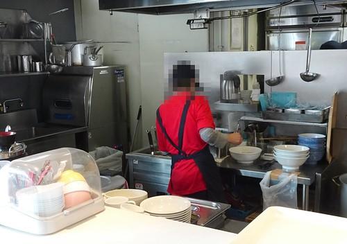 代々木PAのレストランのメニュー