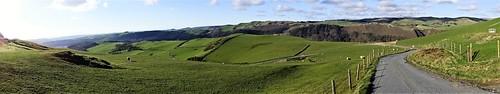 wales vale rheidol cymru panoramic panorama