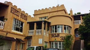 Brown Sugar.  It's an ex mafia mansion.  Pretty fun, plus there are cute bungalows in the back!