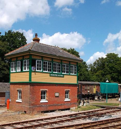 Horsted Keynes signal box