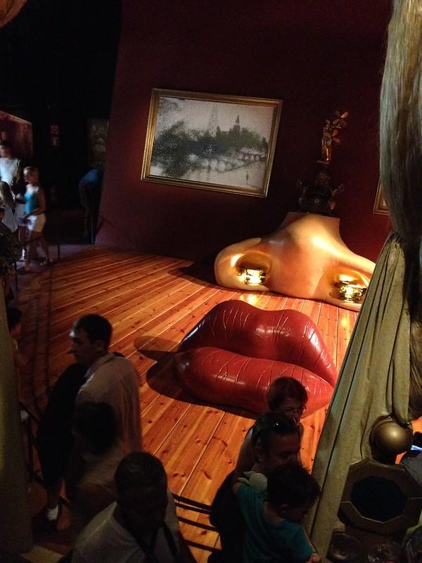 Peinture/sculpture en 3D de Dali