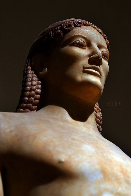 Kroisos, or Croesus, (stop and show pity), National Archaeological Museum no. 3851, (artificial light, October 2014)