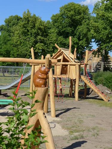 Neuer Spielplatz in der Dorfstraße #3