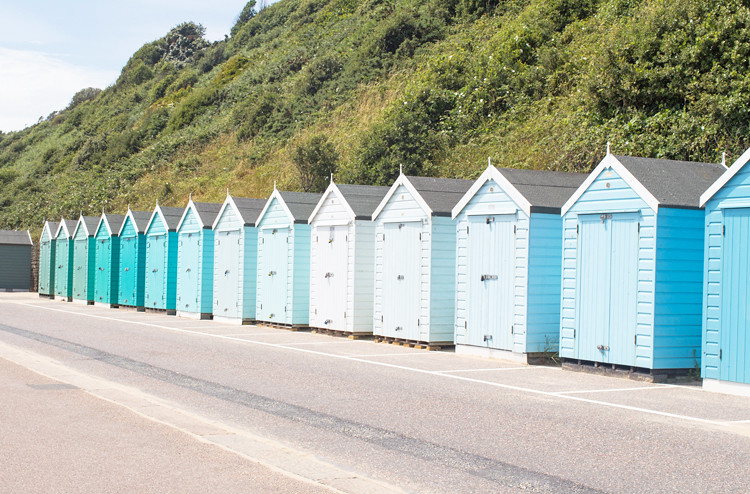 2. Turquoise Beach Huts
