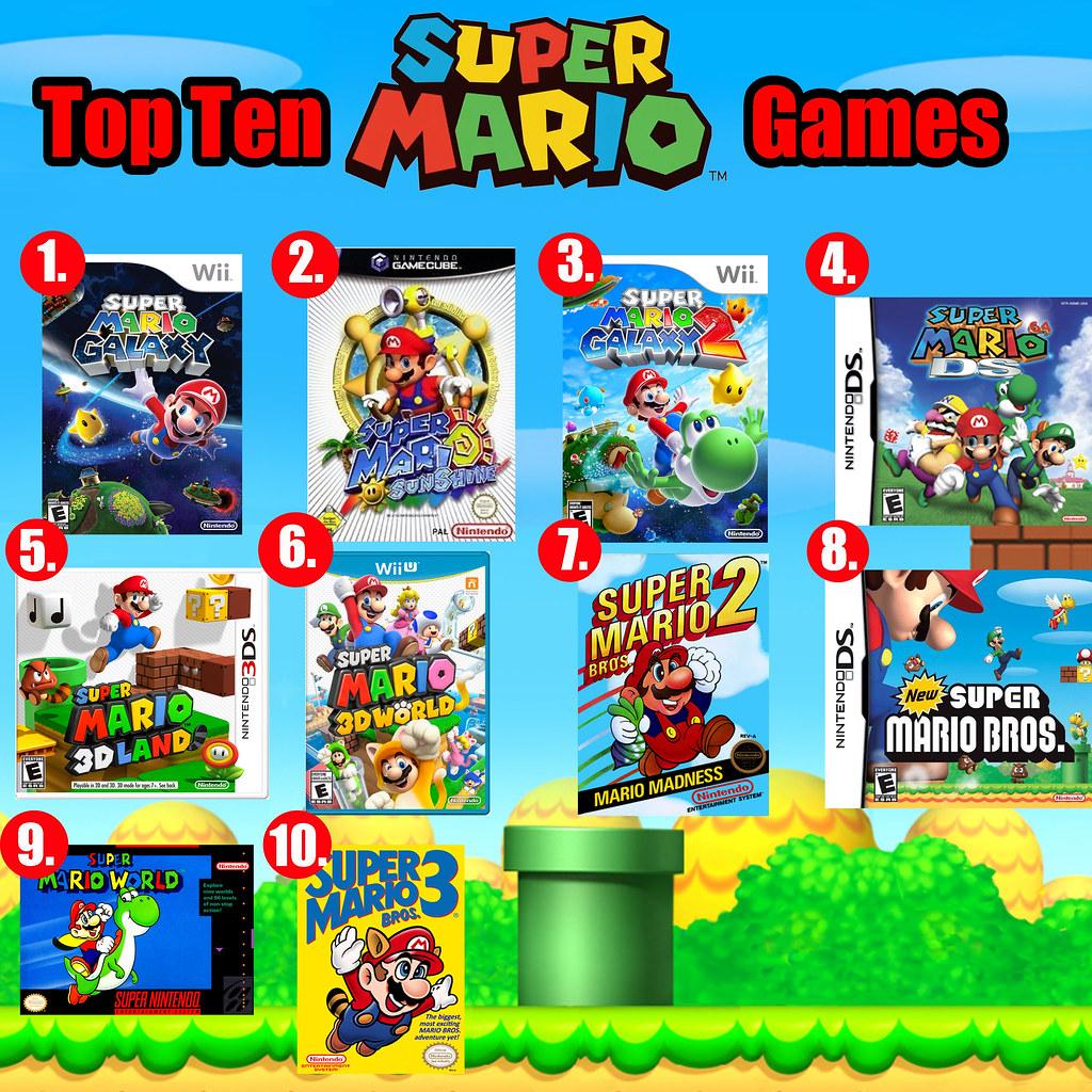 Top Ten Mario Games