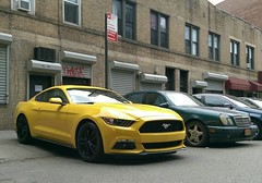 Sweet Mustang captured at rest NYC Htconem8 Ilovenewyork My Smartphone Life Newyorkcity NYCImpressions Cityscapes at Astoria, NY