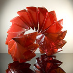 Richard Royal; Red Zeal; Blown and assembled glass; 23x23x26; 2013 -