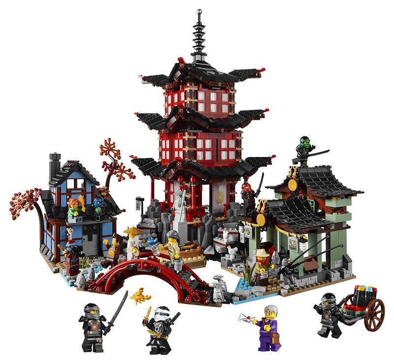 LEGO Ninjago 70751 - Temple of Airjitzu