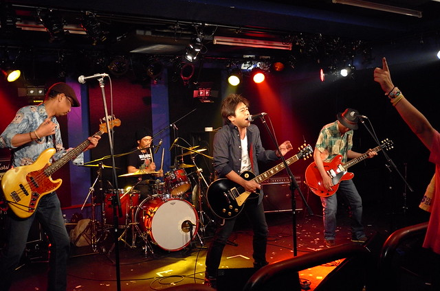 ASAKUSA69 live at 獅子王, Tokyo, 10 Jul 2015. L028