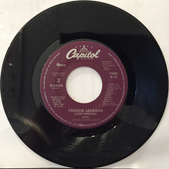 FREDDIE JACKSON:HEY LOVER(RECORD SIDE-B)