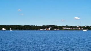 Flensburger Förde im Hintergrund Kollund