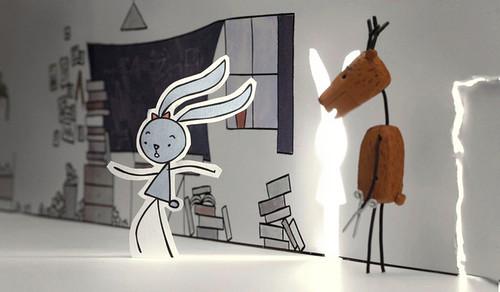 映画『ウサギとシカ』