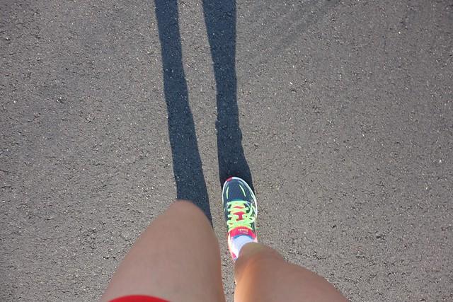 Loving my new pair of Skechers GOrun Strada running shoes.