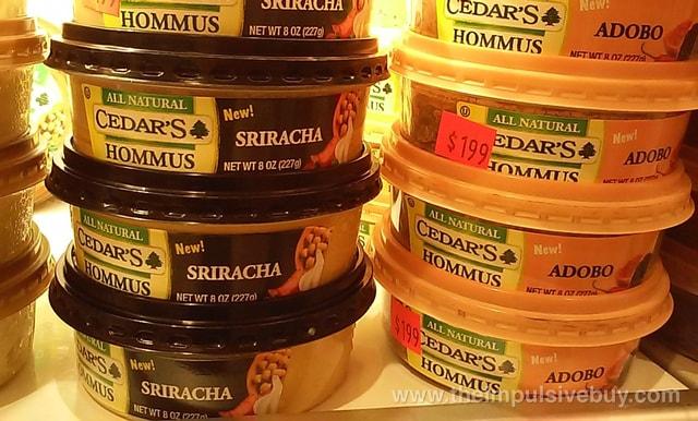 Cedar's Sriracha and Adobo Hommus