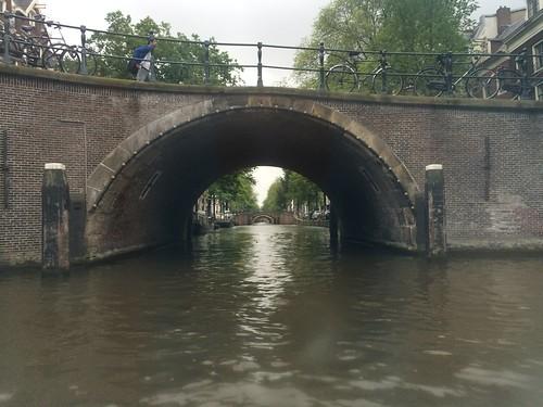 Alignment of the seven arch bridges, Amsterdam