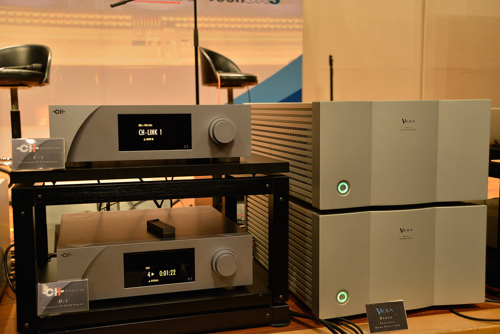 CH Precision C1 D/A Converter & D1 SACD/CD Player, Viola Bravo Mono Power Amp