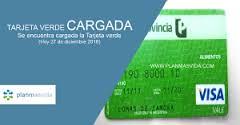 carga tarjeta verde enero 2017