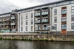 New flats at Wakefield Flood Lock