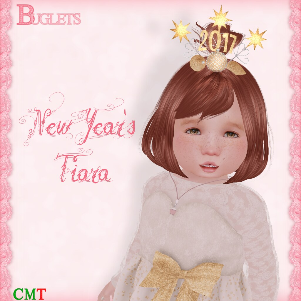 New Year's Tiara 2017 AD - SecondLifeHub.com