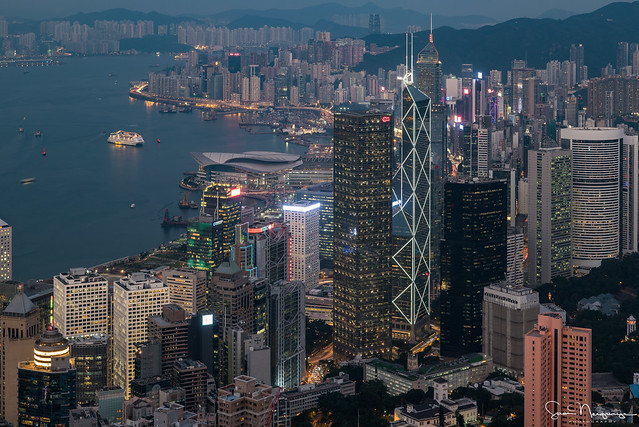 View From The Peak, Hong Kong (Explored)