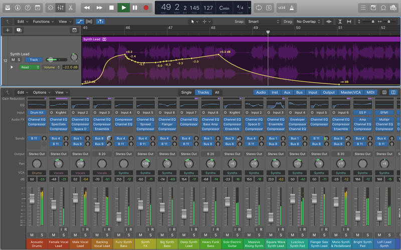 Logic Pro X 10 4 6 – Professional songwriting, editing, and