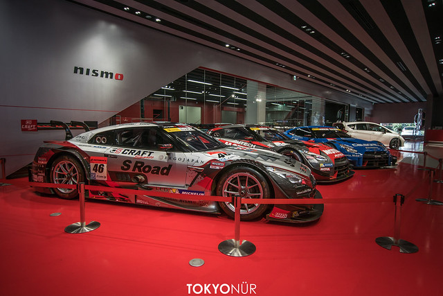 Nismo Exclusive // NISSAN GT-R NISMO GT500 // S Road CRAFTSPORTS MOLA x MOTUL AUTECH NISMO x Calsonic IMPUL at Nismo Showroom