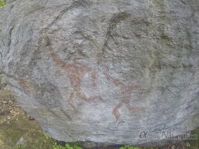 rock art 0001 Harriman State Park, New York, USA