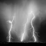 29. Juuni 2015 - 21:37 - A monsoon thunderstorm strikes the desert north of Phoenix, Arizona.