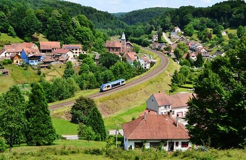 SNCF X 73904 te Frohmuhl