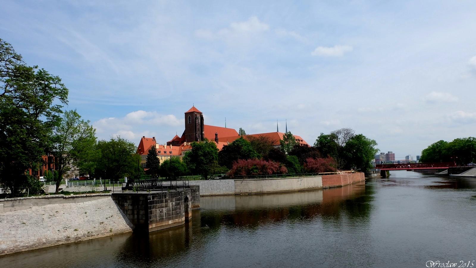 Wyspa Tamka, Wroclaw, Poland