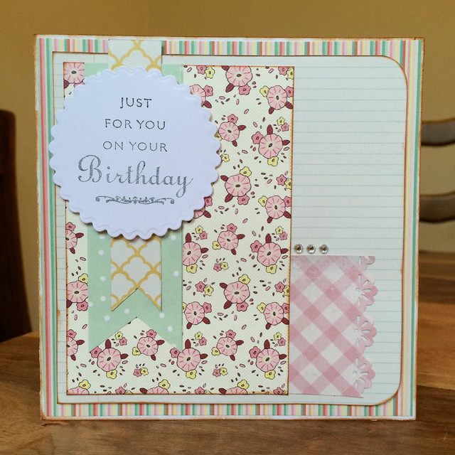 crafting in the Lake District Birthday card by StickerKitten