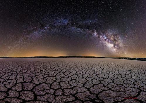 Laguna y galaxia (versión 2)