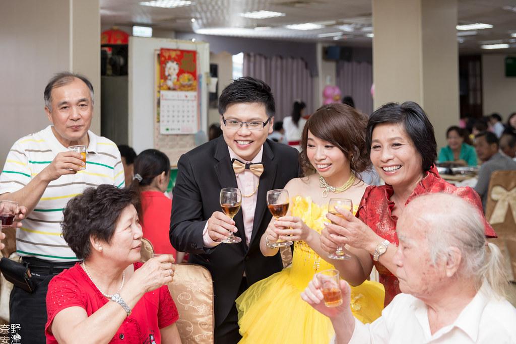 婚禮紀錄-高雄-展誠&鳳綿-文定午宴 X 吉喜海鮮餐廳 (77)