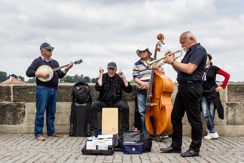 Musicians on the Karlsbrücke