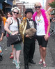 Dr. Takeshi Yamada and Seara (sea rabbit) visited the Gay Pride Parade in Manhattan, New York on June 28, 2015. The US President Barack Obama supports same-sex marriage. gay marriage. 100_8367=C by searabbits23