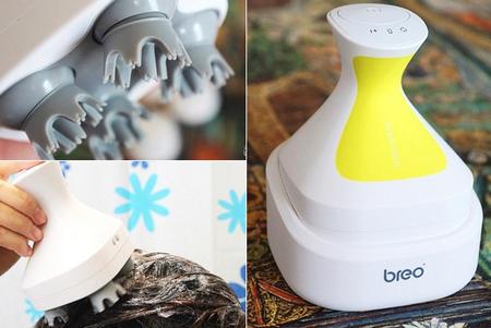 Breo 倍輕鬆頭皮spa按摩器~~把洗頭、按摩小助理通通帶回家