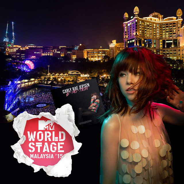 Carly Rae Jepsen Bakal Perform di MTV WORLD STAGE MALAYSIA 2015