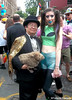 Dr. Takeshi Yamada and Seara (sea rabbit) visited the Gay Pride Parade in Manhattan, New York on June 28, 2015. The US President Barack Obama supports same-sex marriage. gay marriage. 100_8382=C by searabbits23