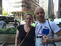 Cristina y Xesco de Barcelona