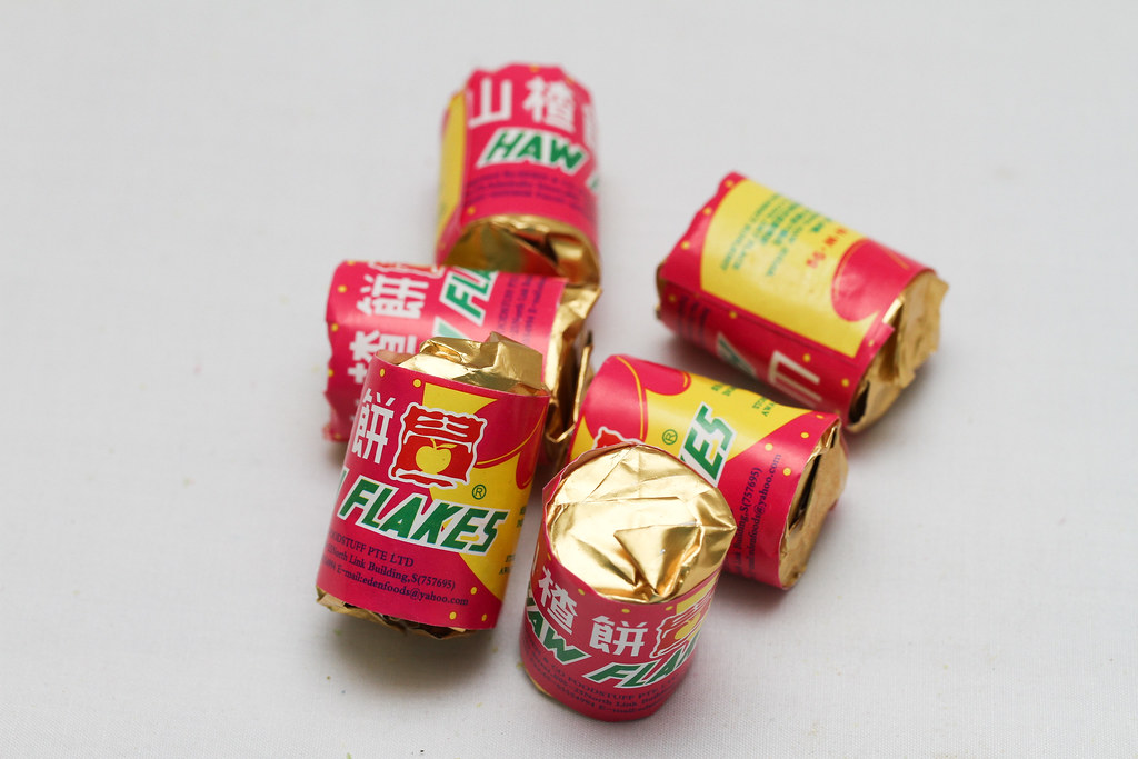 50 Childhood Snacks Singaporeans Love: Haw flakes