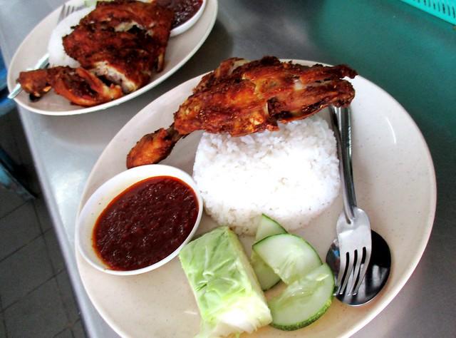 Janggut nasi ayam penyet