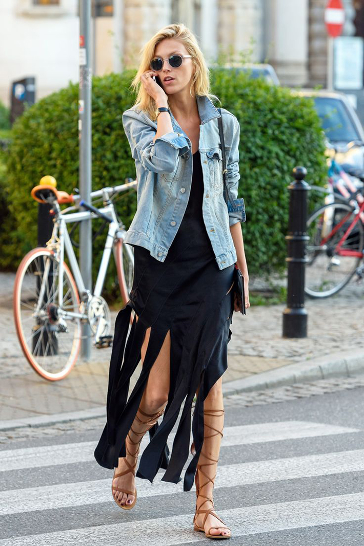 Gladiator Sandals Outfits Streetstyle Summer1