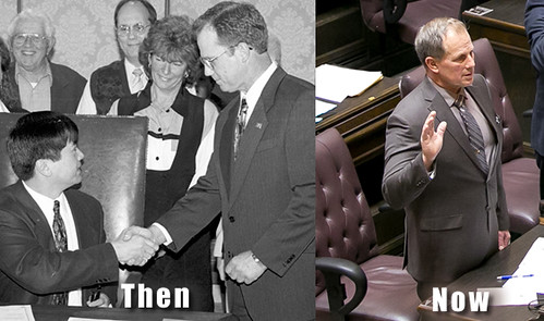 Rep. John Koster - Then and now