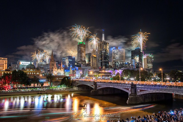 New Year's Eve #Melbourne (Explored 1st Jan 2017)