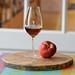 Peach and sherry in Schott Zwiesel Enoteca cognac glass