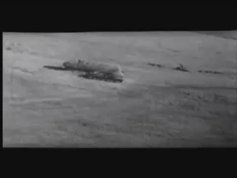 german WW2 STUKA ju87g shooting T34, T35, A9-10 cruiser tanks with anti-tank gun combat camera video